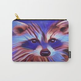 The Raccoon Bandit Carry-All Pouch