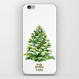 Pine Cone Pine Tree - Make someone happy iPhone Skin