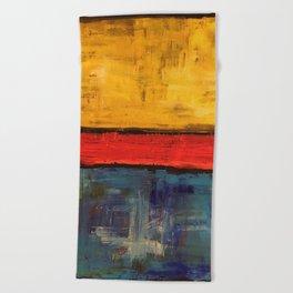 Primary Rothko Beach Towel