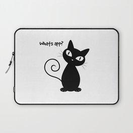 Whatsapp Cat Laptop Sleeve