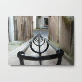 Lerwick Lanes, Shetland Isles Metal Print