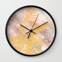 Tropical XVIII Wall Clock