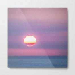 Kona Hawaii Sunset Metal Print