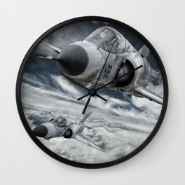 Mirage III Wall Clock