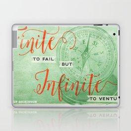 Infinite—to venture Laptop & iPad Skin