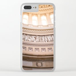 Frieze of American History - Washington DC Clear iPhone Case