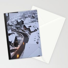 Wintery Grindelwald Stationery Cards