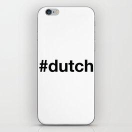 DUTCH iPhone Skin