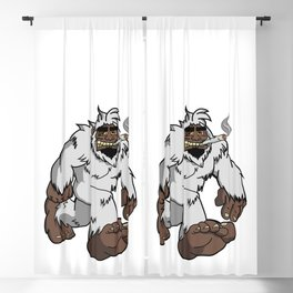 Chillin' Yeti Blackout Curtain