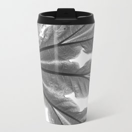 Leaf and sunlight Travel Mug