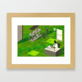 """My Family, My Science"" by Angie Wang for Nautilus Framed Art Print"
