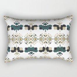 Bulgarian embroidery pattern 03 Rectangular Pillow