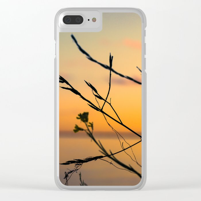 The World Fades Clear iPhone Case