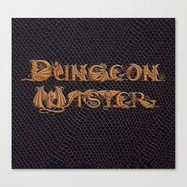 Dracoserific Dungeon Master Canvas Print