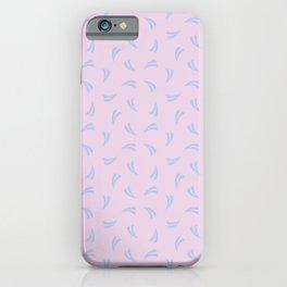 Grain Splash in Dusty Lilac iPhone Case