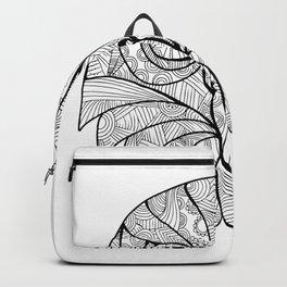 Australian Barking Owl Mandala Backpack
