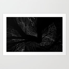 90% of my mind is on you Art Print