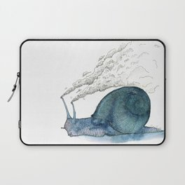 Escargot fumant Laptop Sleeve