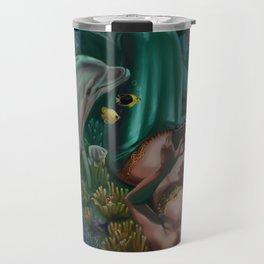 Level 12, Fathom 10: Mermaid Playing Video Games Travel Mug