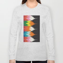 American Native Pattern No. 123 Long Sleeve T-shirt