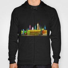 fabulous city painted Hoody