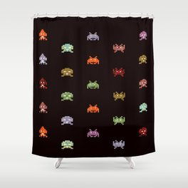 envahisseur 5 Shower Curtain