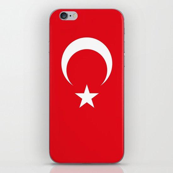 Flag of Turkey iPhone & iPod Skin