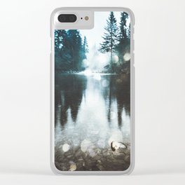 Dreaming of PNW Clear iPhone Case