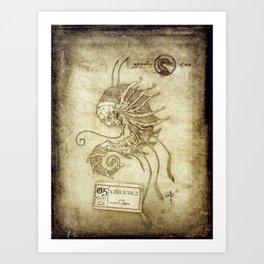 Bestiary 05 Art Print