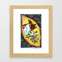 Dear John Framed Art Print