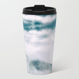 Misty mountain in Hong Kong Travel Mug