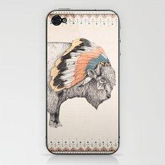 White Bison iPhone & iPod Skin