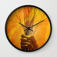 prometheus Wall Clocks featuring Prometheus by nosnop