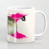 boba fett Mugs featuring Boba Fett by efan