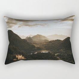 Hohenschwangau castle in Germany Rectangular Pillow