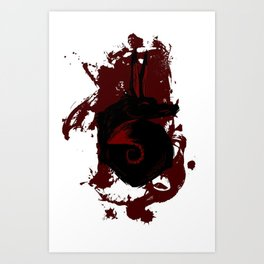 Blackfox Art Print