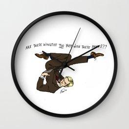 Niles Crane Pin-Up Wall Clock