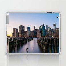 Sunset over Manhattan Laptop & iPad Skin