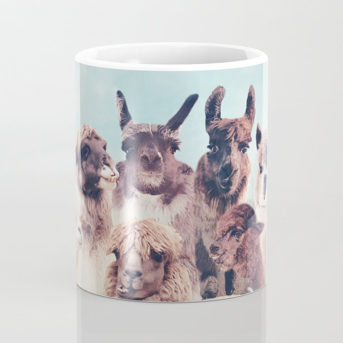 NEVER STOP EXPLORING - HAPPY FAMILY - ALPACA & LLAMA Coffee Mug