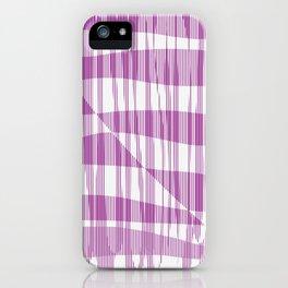 Purple/Violet Pattern iPhone Case