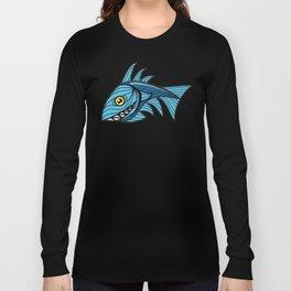 Escher Fish pattern III Long Sleeve T-shirt