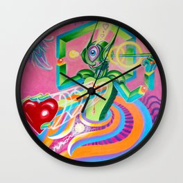 """Love AmBASSador"" by Adam France Wall Clock"