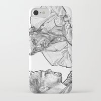 rat iPhone & iPod Cases featuring rat by BzPortraits