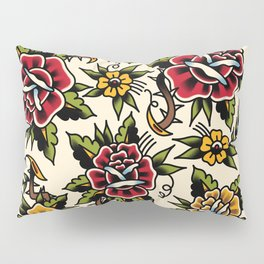 Flower tattoo Pillow Sham