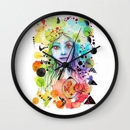 Expression of Joy Wall Clock