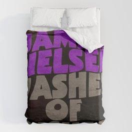 James Nielsen - Washer of Dishes  Duvet Cover