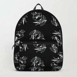 Floral Ink Blot Backpack