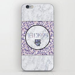 NBHD + 1975 - Floral iPhone Skin