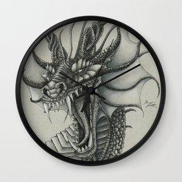 Dragon Bust  Wall Clock