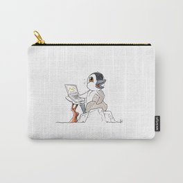 Working Penguinton! Carry-All Pouch